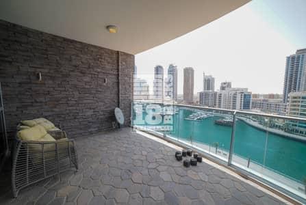 2 Bedroom Apartment for Rent in Dubai Marina, Dubai - Furnished | Full Marina & Dubai Eye View