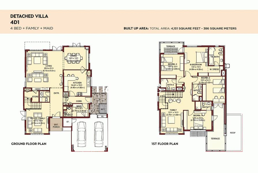 10 Type 4D1 | Largest and best value 4 bed available