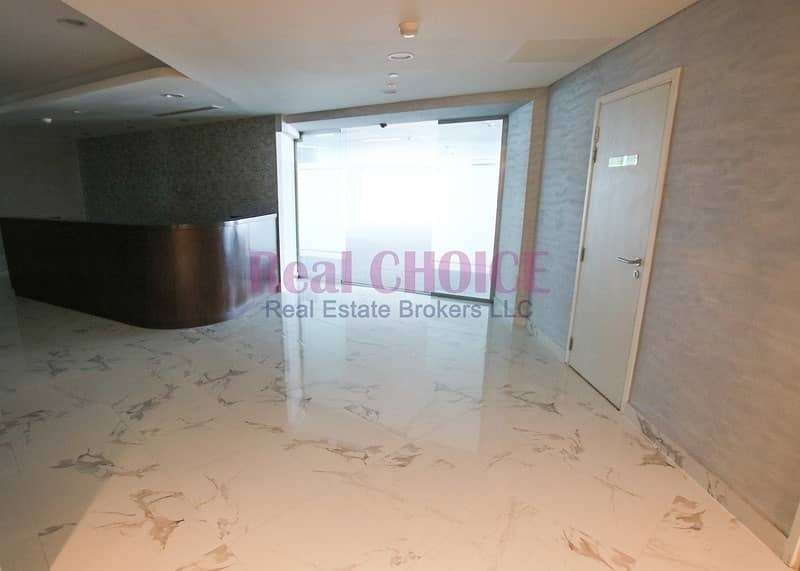 25 Full Floor Fitted Office with Glass Partitions