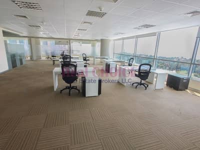 Office for Rent in Dubai Media City, Dubai - Middle Floor Fitted Office|Options Available