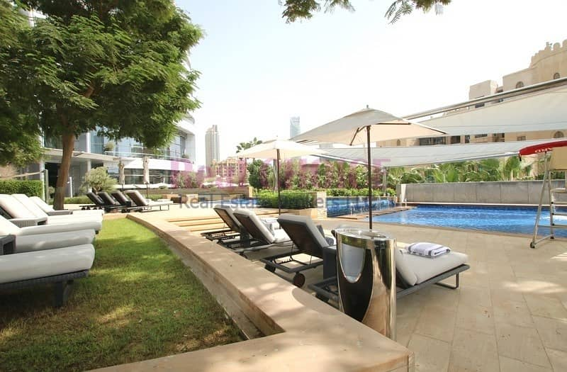 21 1BR|Views of Old Town Dubai|Price in Negotiable