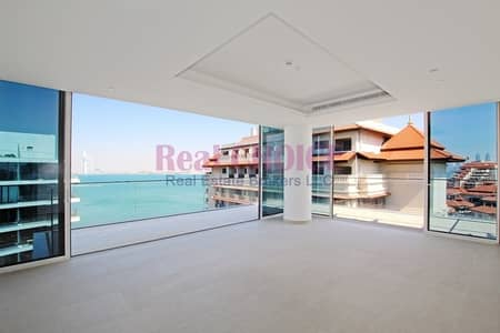 2 Bedroom Flat for Rent in Palm Jumeirah, Dubai - High End 2BR Amazing 2 Side Views|Top Floor
