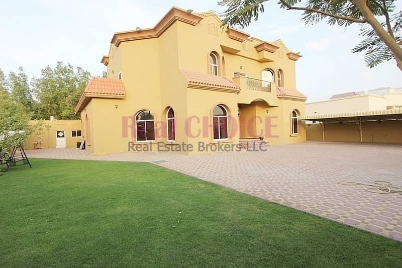 2 Quality Spacious 8BR Corner Villa For Rent  Mirdif