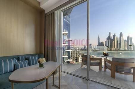 فلیٹ 1 غرفة نوم للبيع في نخلة جميرا، دبي - Perfect 1BR Apartment with Breathtaking Sea View
