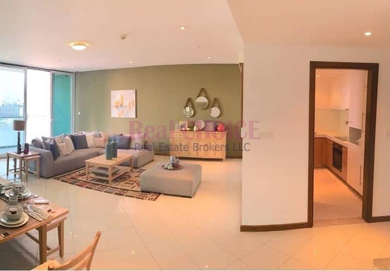 Dual View|No Commission and DLD Fee|2BR Apartment