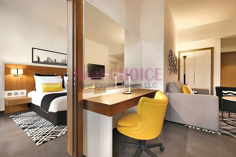 Vacant and ready to move in|Fully Furnished Studio