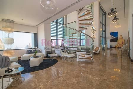 4 Bedroom Penthouse for Sale in DIFC, Dubai - Fully Upgraded 4BR Plus Maids | Luxuries Penthouse