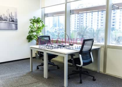 مکتب  للايجار في مركز دبي التجاري العالمي، دبي - Brand New Serviced Offices | Prime Location