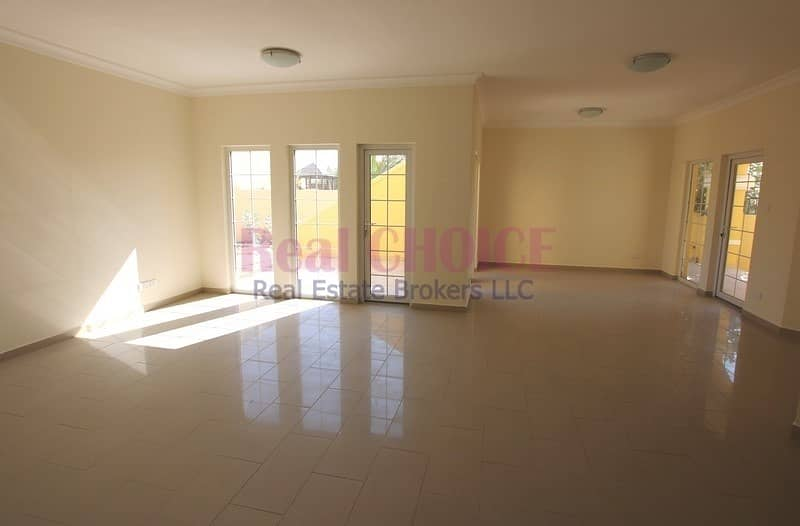 3BR|Maids Room|12 Chqs|No Commission|1 Month Free