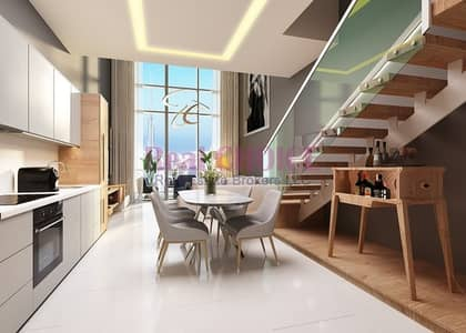 شقة 2 غرفة نوم للبيع في الخليج التجاري، دبي - Loft Type 2BR|7 Year Post Handover Plan Available
