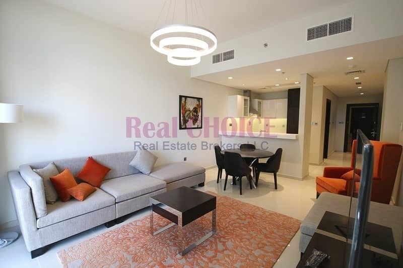 Amazing Golf View|Fully Furnished 1BR Apartment