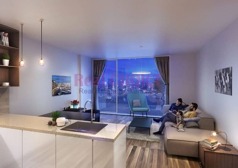 2 Near UAE Metro Station|Guaranteed High ROI Studio