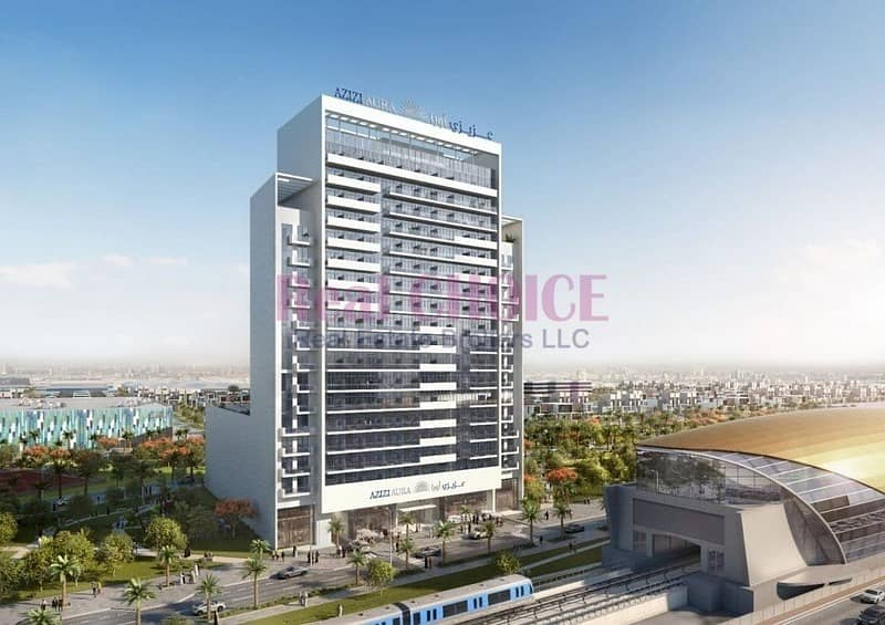 11 Near UAE Metro Station|Guaranteed High ROI Studio
