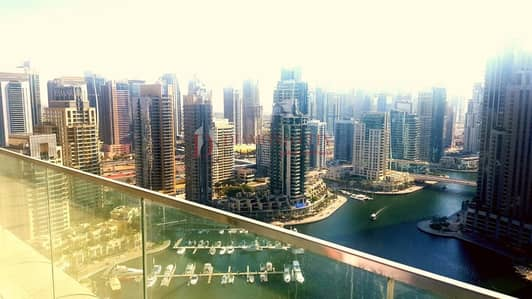 3 Bedroom Flat for Rent in Dubai Marina, Dubai - Spacious  Marina View  Next to Marina Walk 