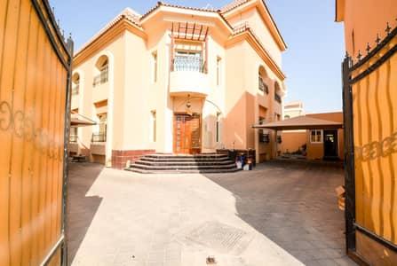 فیلا 7 غرف نوم للايجار في بين الجسرين، أبوظبي - 7 Master Bedrooms Villa For Rent with a Swim pool