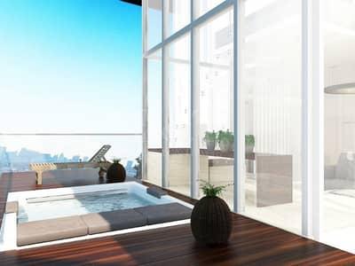 فلیٹ 1 غرفة نوم للبيع في شاطئ الراحة، أبوظبي - Furnished Luxury I Pay As Low As 1% Monthly