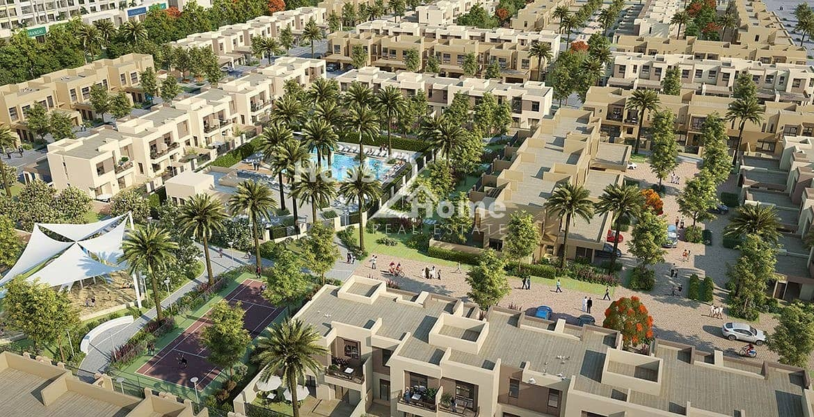 -One of the best price of a Type 5 villa in Hayat Townhouses