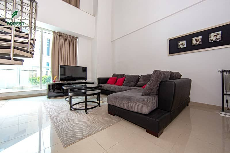 2 Fully Furnished 1 Bedroom Duplex with Private Terrace