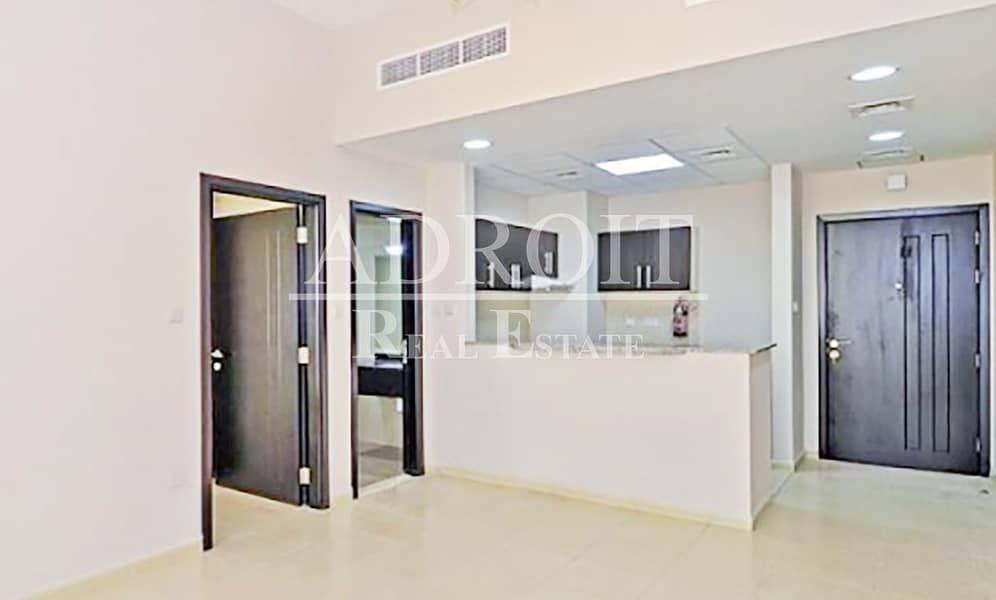 Hot Offer  w/ Balcony | 1BR Apt in Queue Point @ 33K for 4 cheques!