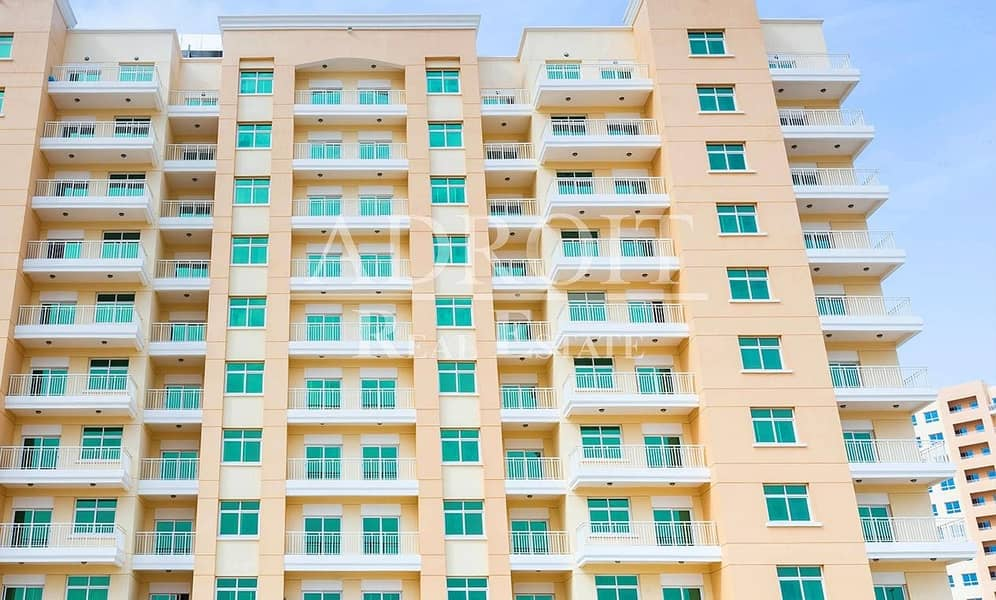 2 Hot Offer  w/ Balcony | 1BR Apt in Queue Point @ 33K for 4 cheques!