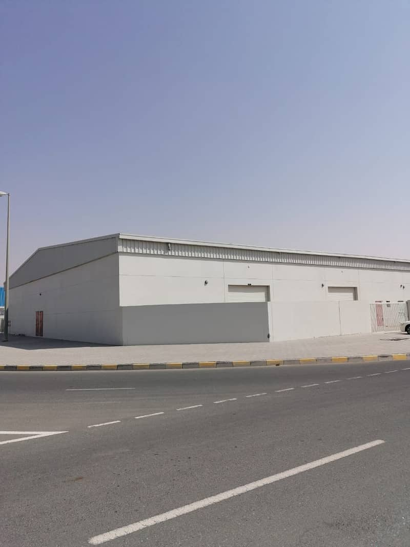 WARE HOUSE FOR SALE IN EMIRATES INDUSTRIAL AREA  BLOK 4 SHARJAH