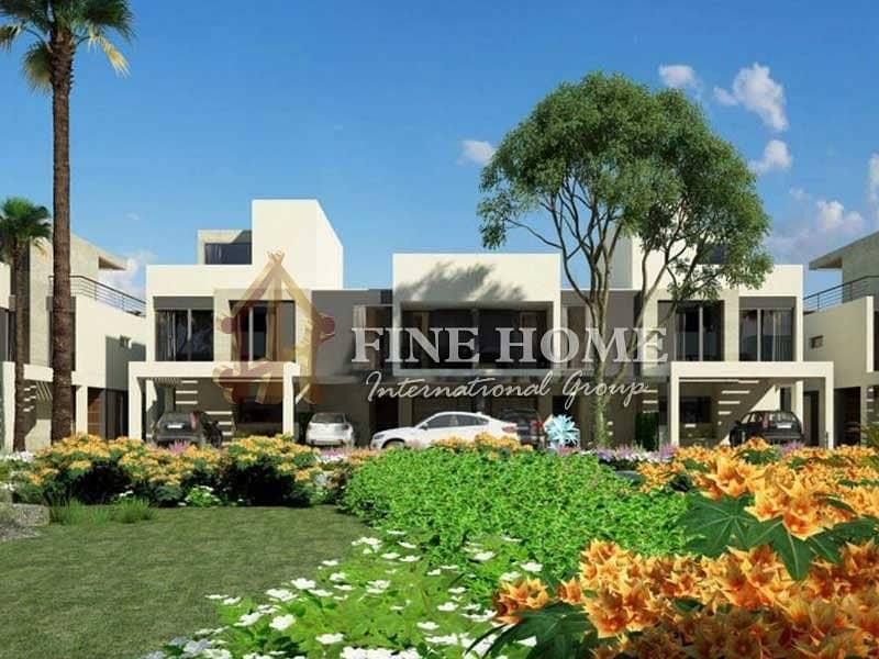 5BR . Villa in Bloom Gardens . Abu Dhabi