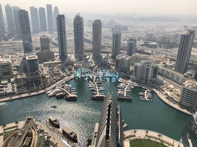 2 Bedroom Apartment for Rent in Jumeirah Beach Residence (JBR), Dubai - Exquisite View | 2 BR | Full Marina View | Ready to Move In