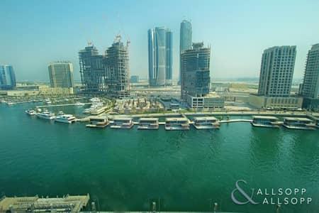 استوديو  للايجار في الخليج التجاري، دبي - Canal View | Furnished | 55-60k | Studio