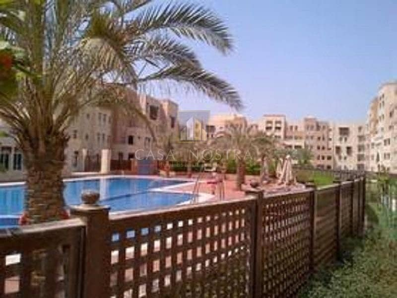 10 Garden view Vacant 2BR with Balcony I Open Kitchen