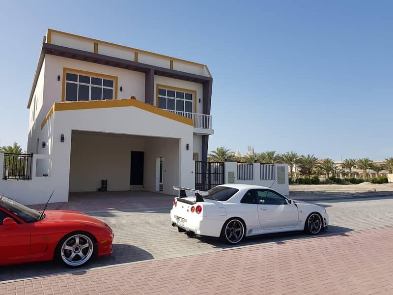 JVC District 12 Brand New 5 bedroom Villa with Maid, Laundry, Store,Majlis,Parking Price 3.2/m