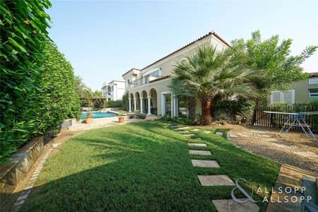 5 Bedroom Villa for Sale in Green Community, Dubai - New Listing | Private Pool | Main Park Access<BR/>