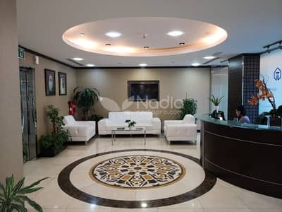 مکتب  للبيع في أبراج بحيرات جميرا، دبي - Fitted and Furnished Office in X2 Tower