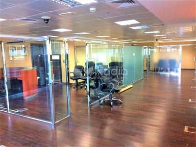 Office for Rent in Jumeirah Lake Towers (JLT), Dubai - Fitted  Office | With Balcony| Indigo Icon| JLT