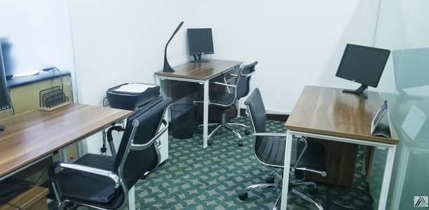Stunning Flexi Desk Office with Fantastic Location | Fully Furnished| Fully Serviced|Near to Metro|with Tenancy Contract