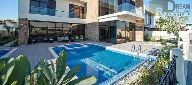 5 Bedroom Villa for Sale in DAMAC Hills (Akoya by DAMAC), Dubai - own your own villa with a special Hollywood character and be a star inside your own home