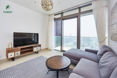 1 Bedroom Flat for Rent in Dubai Marina, Dubai - Very High Floor| Full Marina View |Fully Furnished