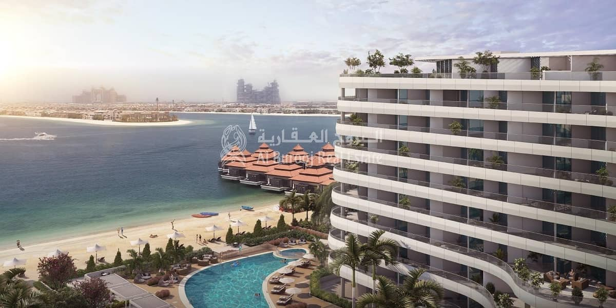 Luxurious 1 Bedroom with full SEA VIEW in Aziz MINA