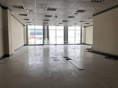 1345 sq.ft Fitted Office for Rent in Al Garhoud with Free Chiller and Two parking