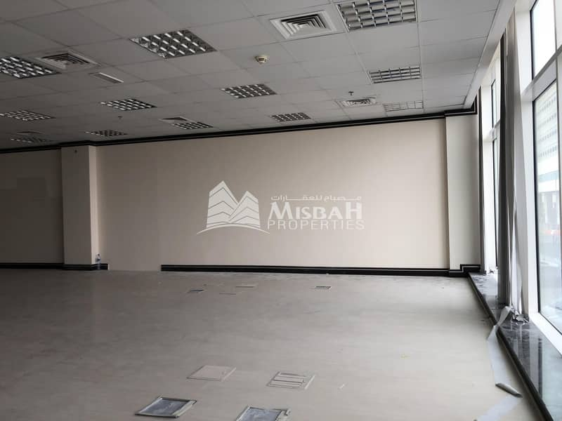 2 1345 sq.ft Fitted Office for Rent in Al Garhoud with Free Chiller and Two parking