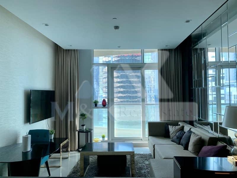 شقة في برج أبر كريست (برج سايد تراس) وسط مدينة دبي 2 غرف 95000 درهم - 4340667