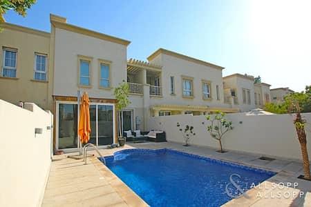 فیلا 2 غرفة نوم للايجار في الينابيع، دبي - Exlusive | Luxury Furnished | Private Pool
