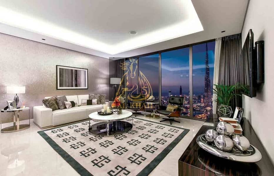 2 Amazing 1BR Apartment for sale in Business Bay | Flexible Payment Plan | Fully Furnished | Stunning  Burj Khalifa Views