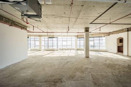 مکتب  للايجار في مدينة دبي للإنتاج، دبي - Combined Shell and Core Office | High Floor