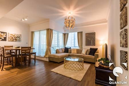 1 Bedroom Flat for Rent in Dubai Marina, Dubai - Marina Facing | Upgraded Interior | Furnished