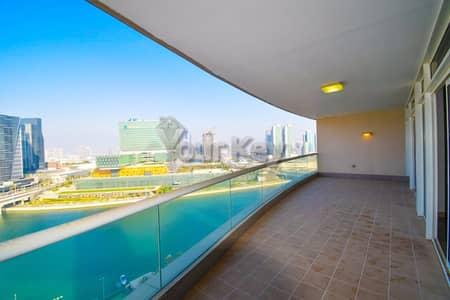 4 Bedroom Flat for Rent in Al Maryah Island, Abu Dhabi - Enjoyable Views  4 Master Beds
