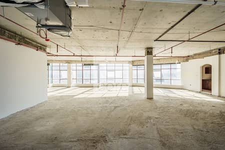 مکتب  للايجار في مدينة دبي للإنتاج، دبي - Shell and Core Office | High Floor | Parking