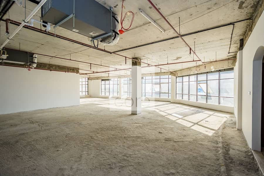 Full Floor | Shell and Core Office | Parking