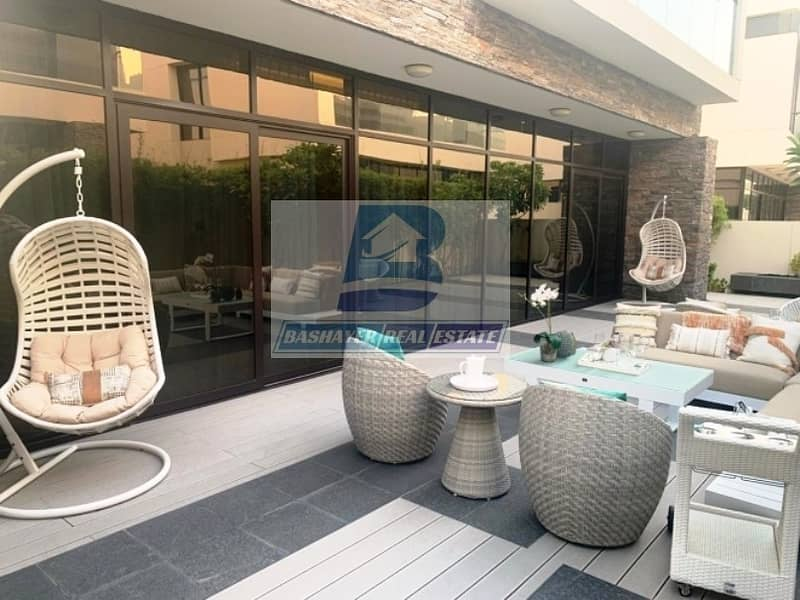 2 5 Bed Stand Alone Villa Designed by Fendi  - Golf view
