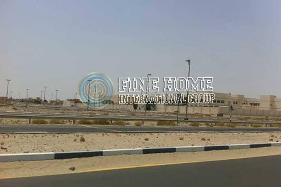 Main St. Residential land in Madinat Al Riyad
