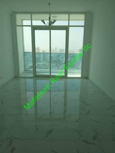 2 Bedroom Flat for Rent in Al Rashidiya, Ajman - Brand New Two Bedroom and hall For Rent in Oasis Tower 2 Central AC Free With Open View